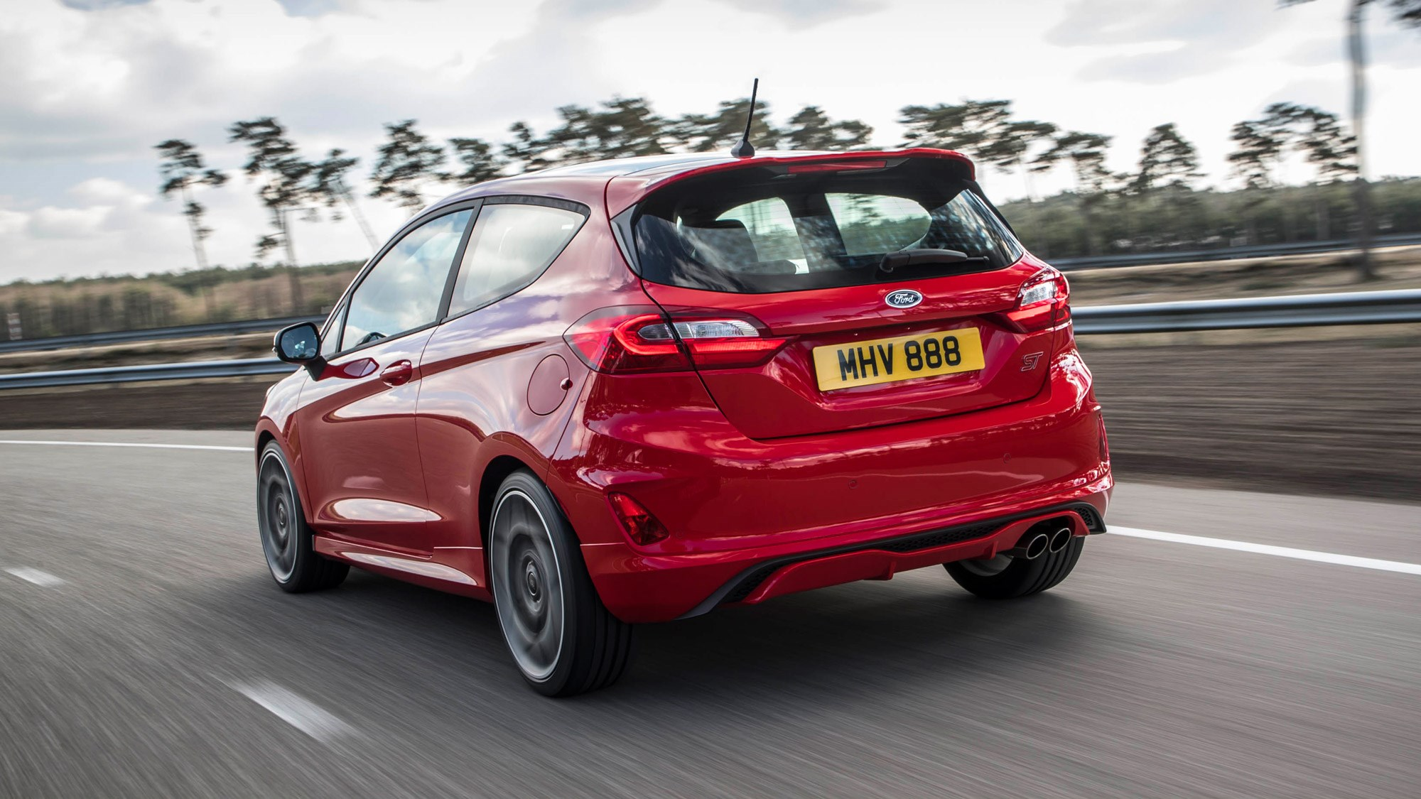 2018 ford fiesta st stability control kept busy on non performance pack ford fiesta st