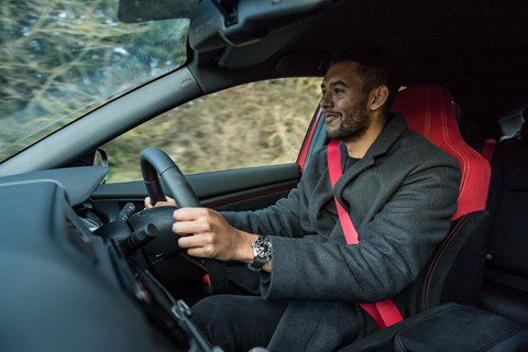 Civic type r curtis driving