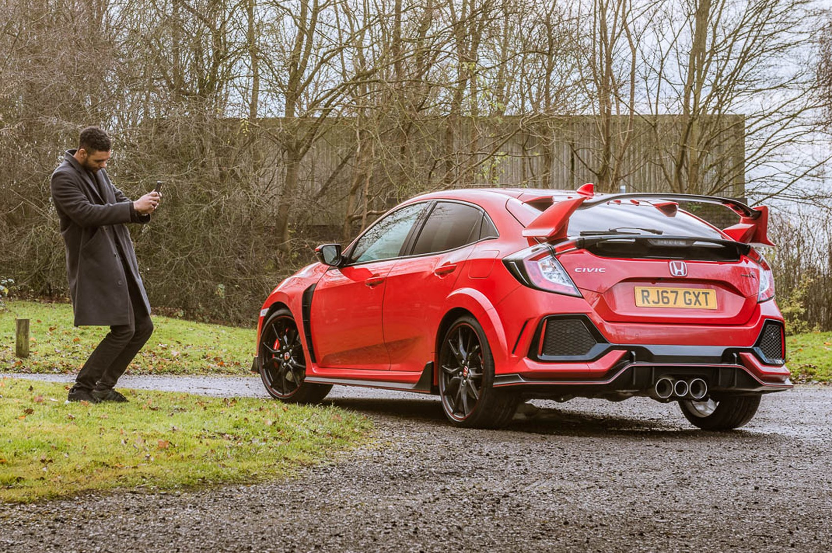 This Honda Civic Type R Or A Gt3 They Re Not As Far Apart You May Think