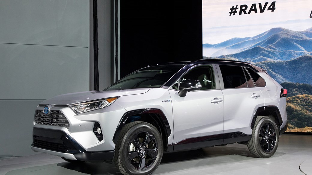 A world debut at the 2018 New York show: the new Toyota RAV4