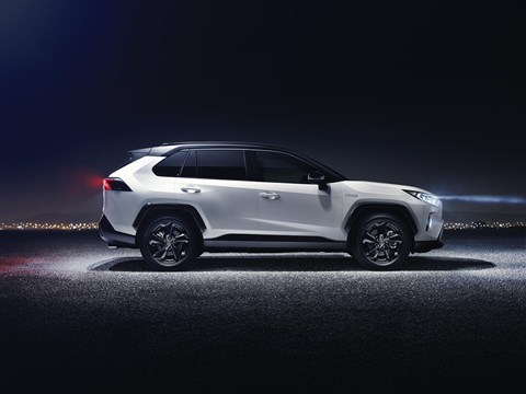 The new 2018 Toyota RAV4
