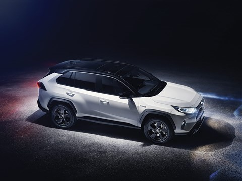 Two-tone roof for the 2019 Toyota RAV4