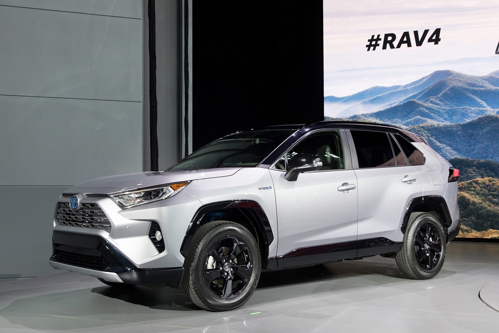 all new toyota rav4 revealed in new york car magazine. Black Bedroom Furniture Sets. Home Design Ideas