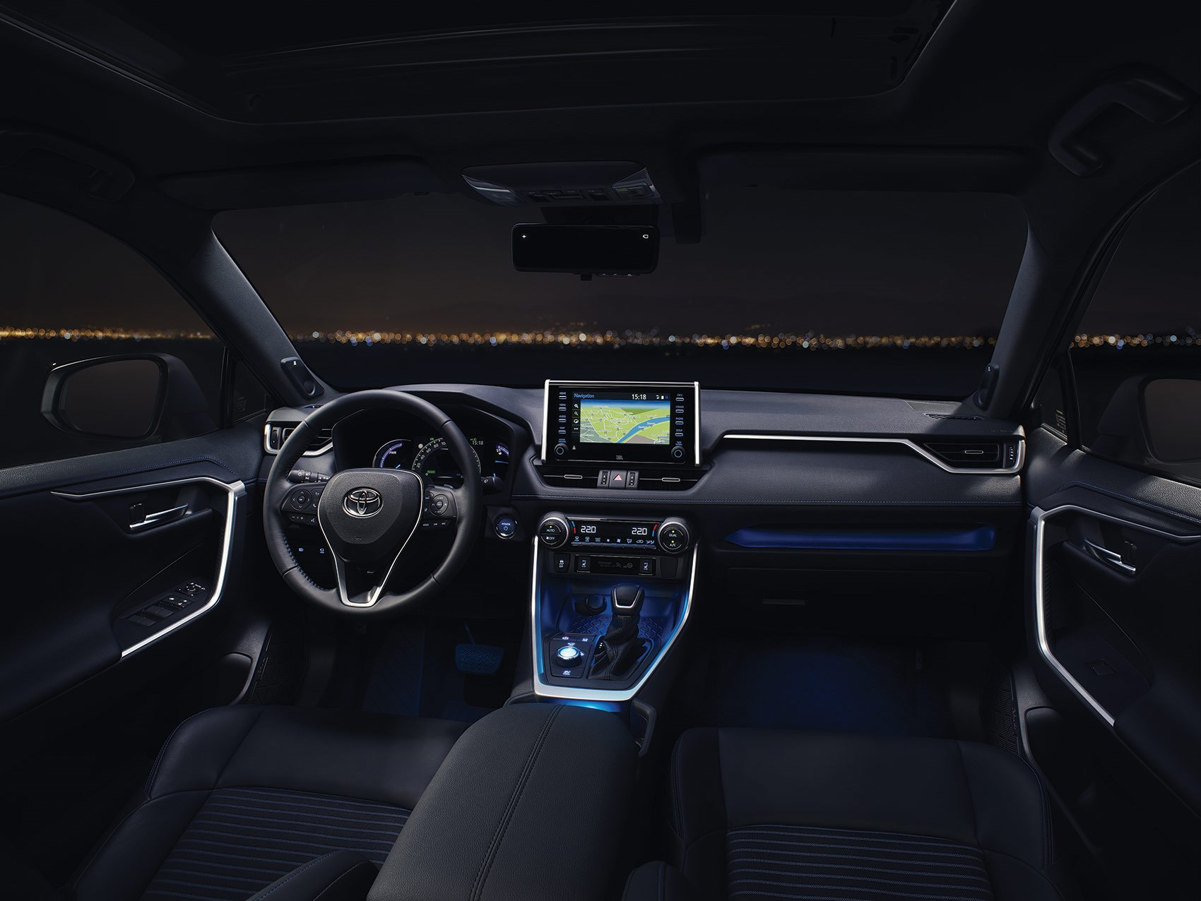 New Toyota Rav4 Plug In Hybrid Mixes Hot Hatch Pace With Prius