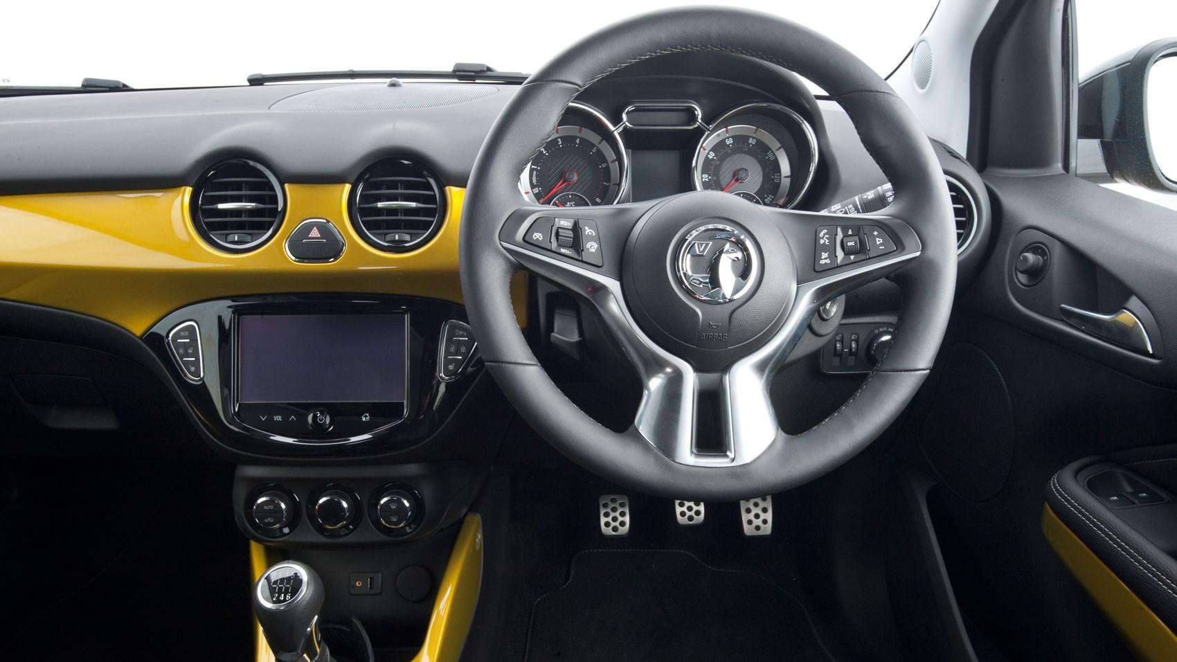 Vauxhall Adam Rocks interior