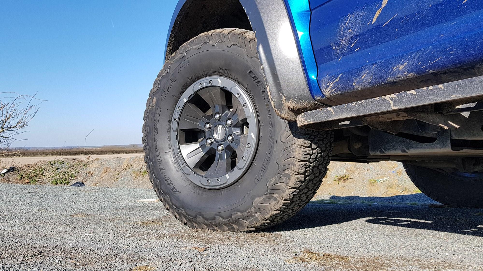 Ford Raptor tyre