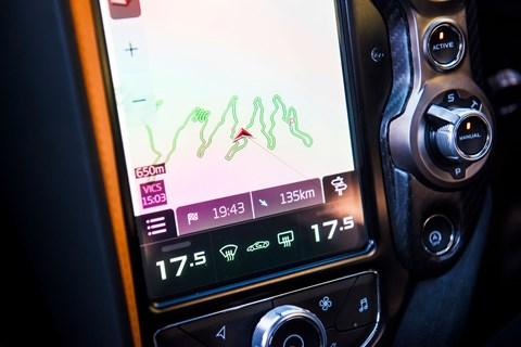 McLaren 720S satnav