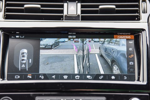 Land Rover Tow Assist rear camera