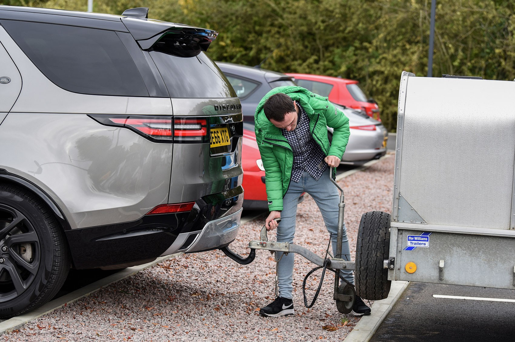 Does it work Land Rovers Advanced Tow Assist tested CAR Magazine