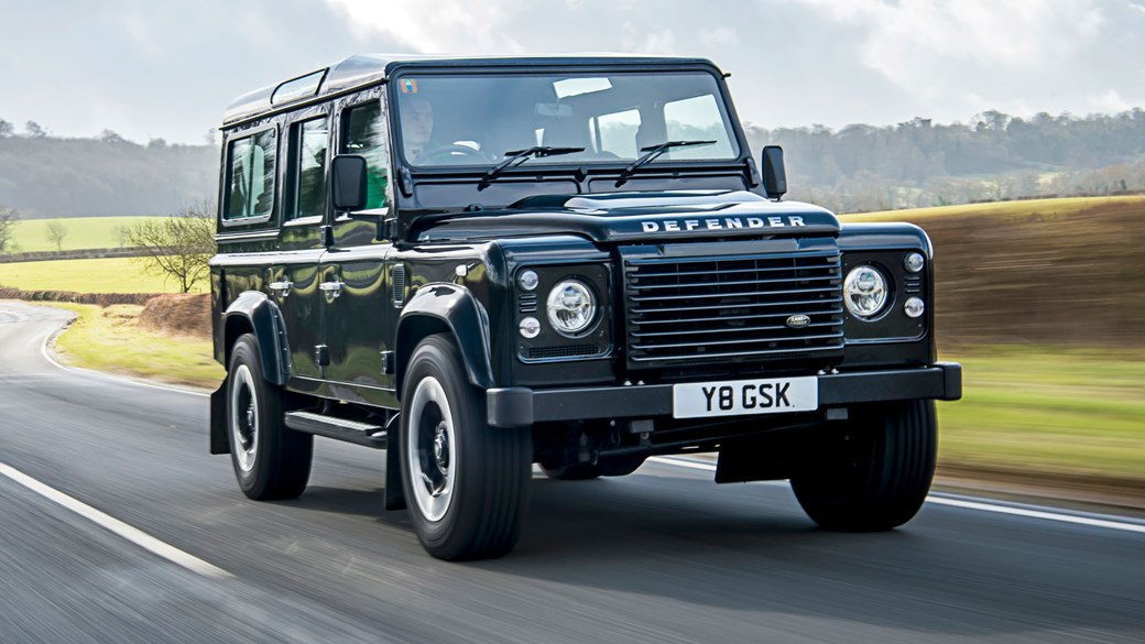 Land Rover Defender 110 Works V8 2018 Review A 400bhp Birthday Present