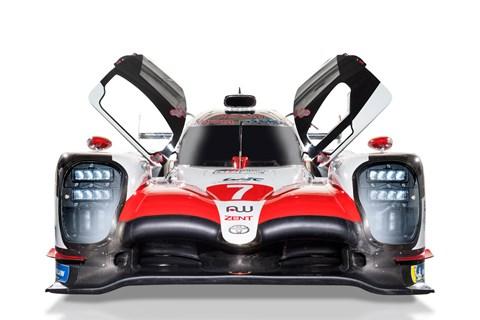 Toyota TS050 LMP1 car front shot