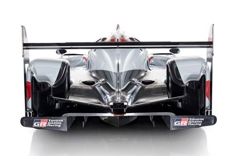 Toyota TS050 LMP1 car rear end