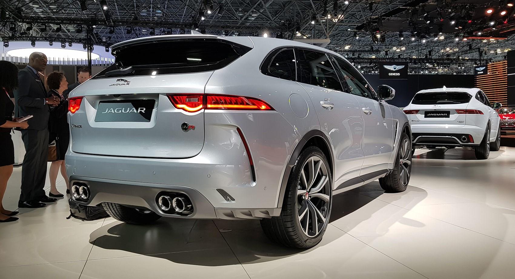 SUV goes SVR: new Jaguar F-Pace SVR is here for 2018 | CAR ...