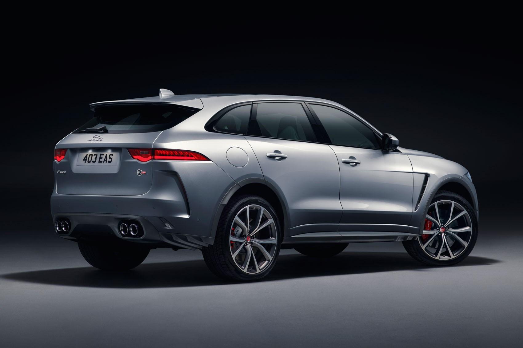 The New Jaguar F Pace Svr At York Auto Show