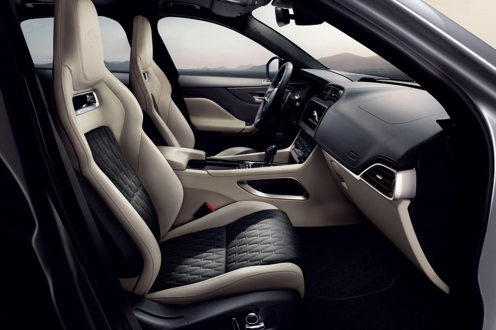 Jaguar F Pace White Interior >> Suv Goes Svr New Jaguar F Pace Svr Is Here For 2018 Car Magazine