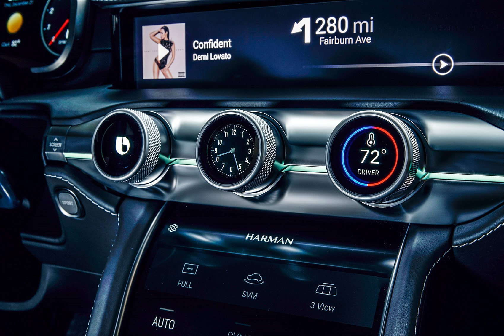 The Future Of Car Interiors Multimedia And Touchscreens