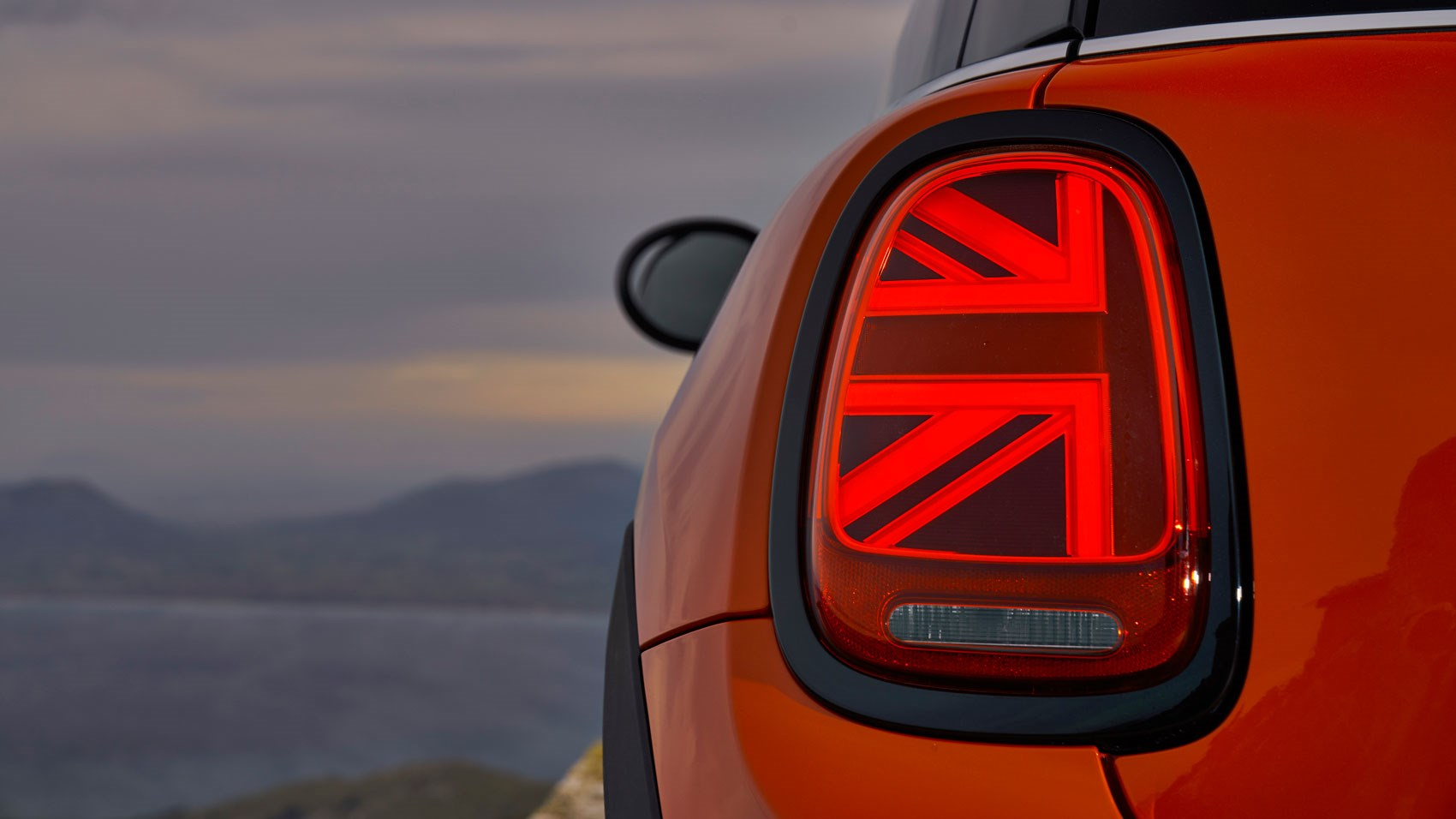 Mini Cooper S rear light