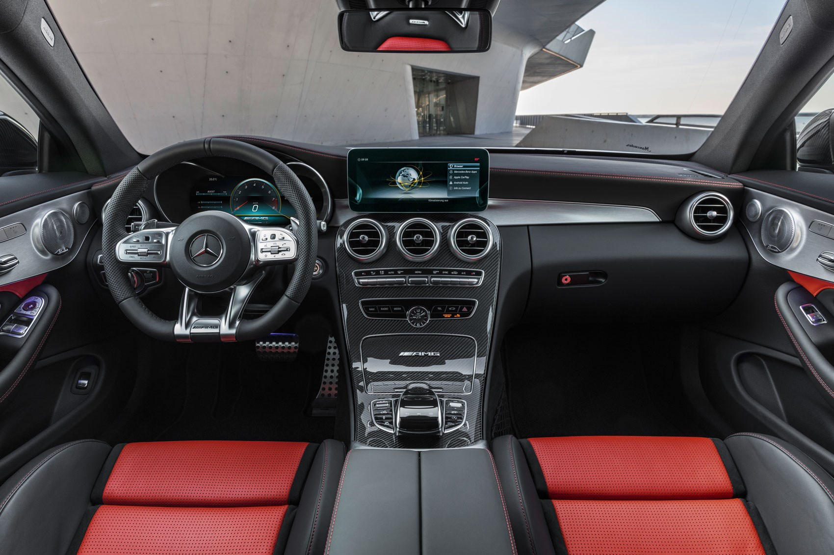 mercedes amg c63 and amg c63 s uk prices for facelift revealed car magazine. Black Bedroom Furniture Sets. Home Design Ideas