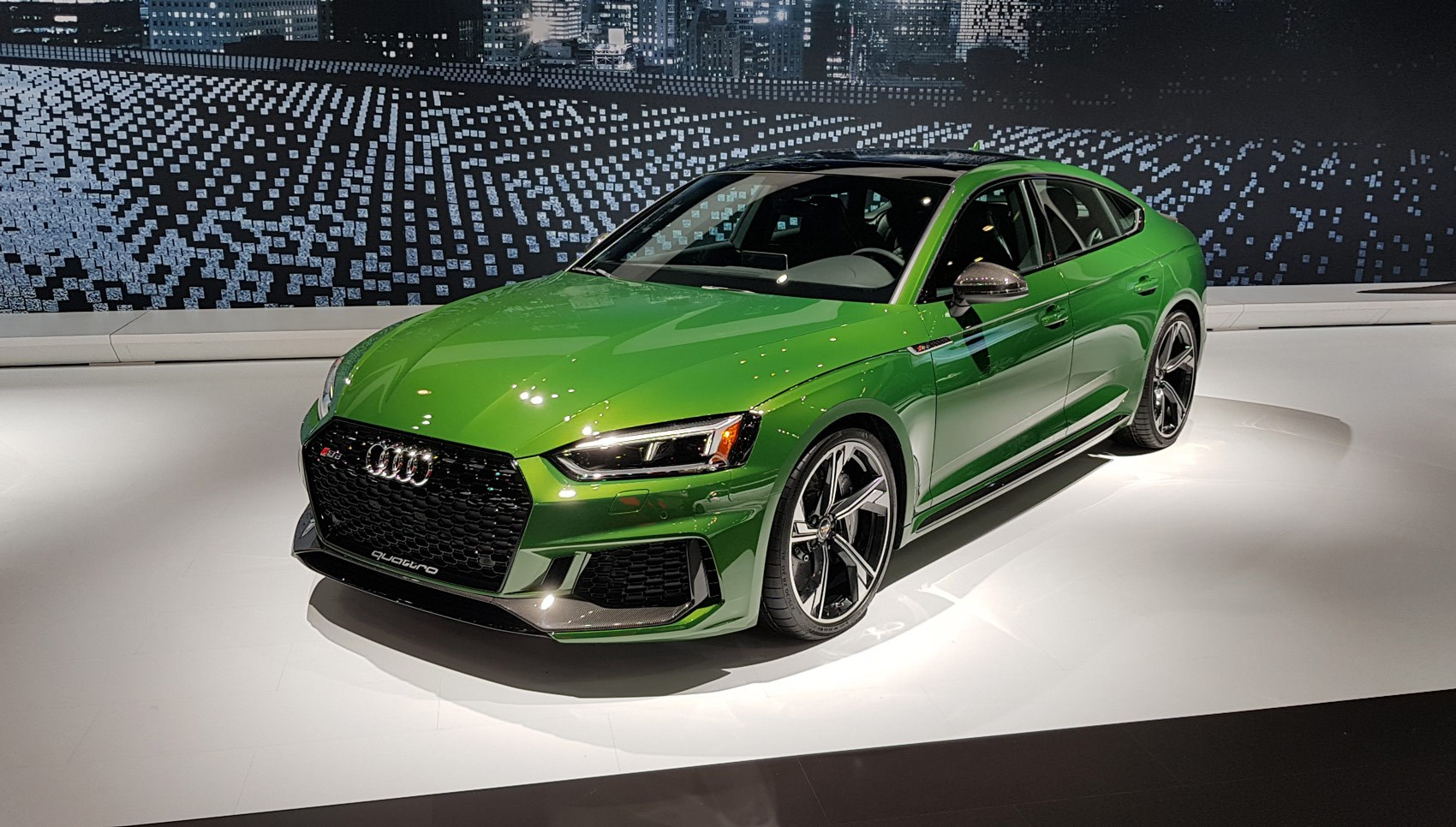 The New Audi Rs5 Sportback At Its York World Debut