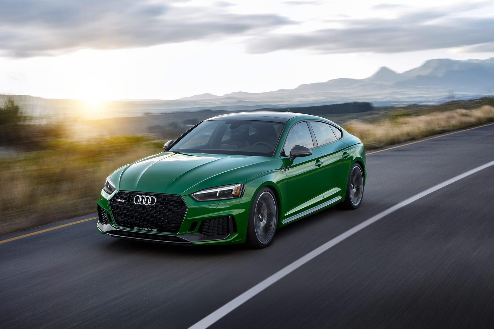 New 2018 Audi RS5 Sportback Revealed