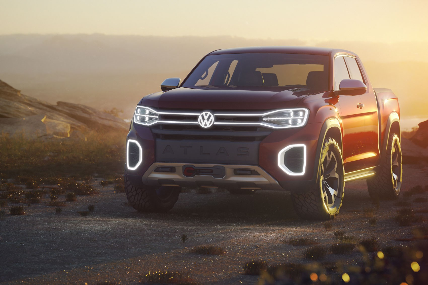 Market tapping VW Atlas Tanoak concept revealed at NYIAS 2018