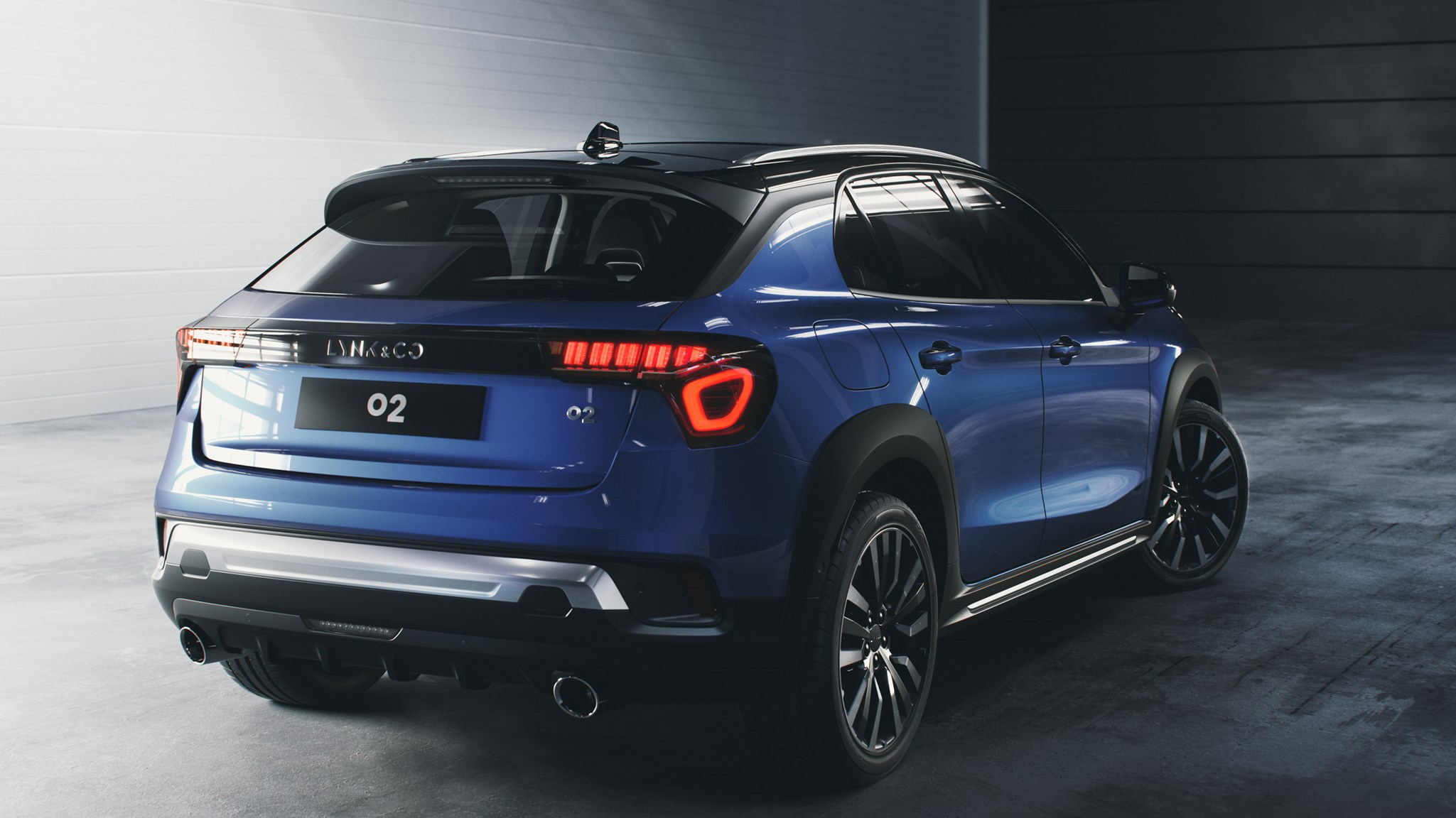 Lynk Amp Co 02 Geely S Other Marque Reveals New Suv Car