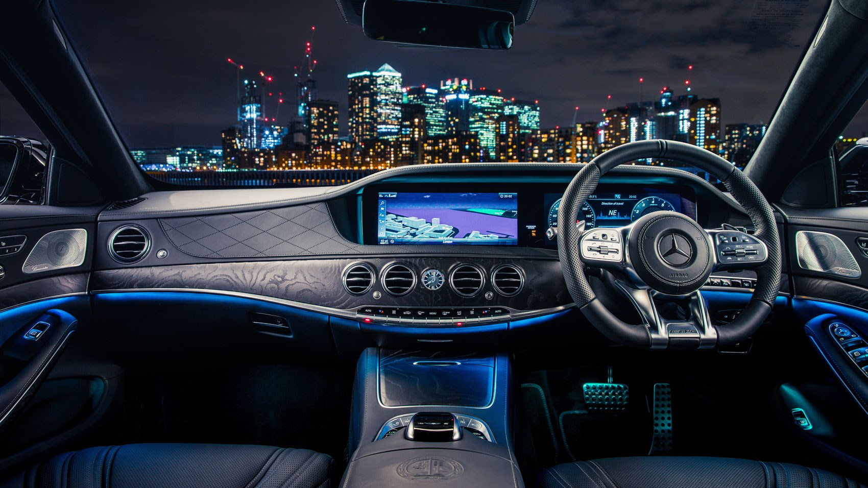 Mercedes Amg S63 L 2018 Review A Brute In A Sharp Suit