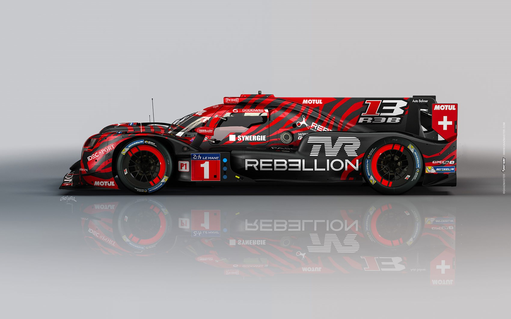 rebellion racing tvr lmp1 race car revealed car magazine. Black Bedroom Furniture Sets. Home Design Ideas
