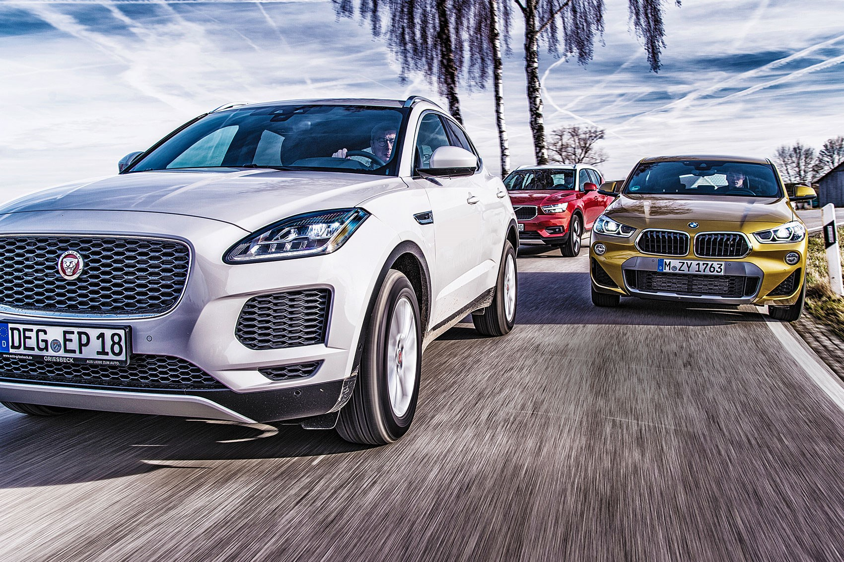Bmw X2 Vs Jaguar E Pace Volvo Xc40 Who Makes The Best Premium Baby Suv