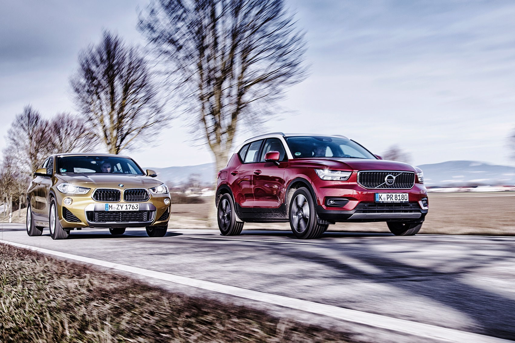 Bmw X2 Vs Jaguar E Pace Volvo Xc40 Who Makes The Best Premium