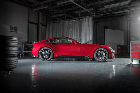 New TVR Griffith specs: a Cosworth-tuned V8, good for nearly 500bhp