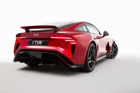 How much will the new TVR Griffith cost? From around £90,000