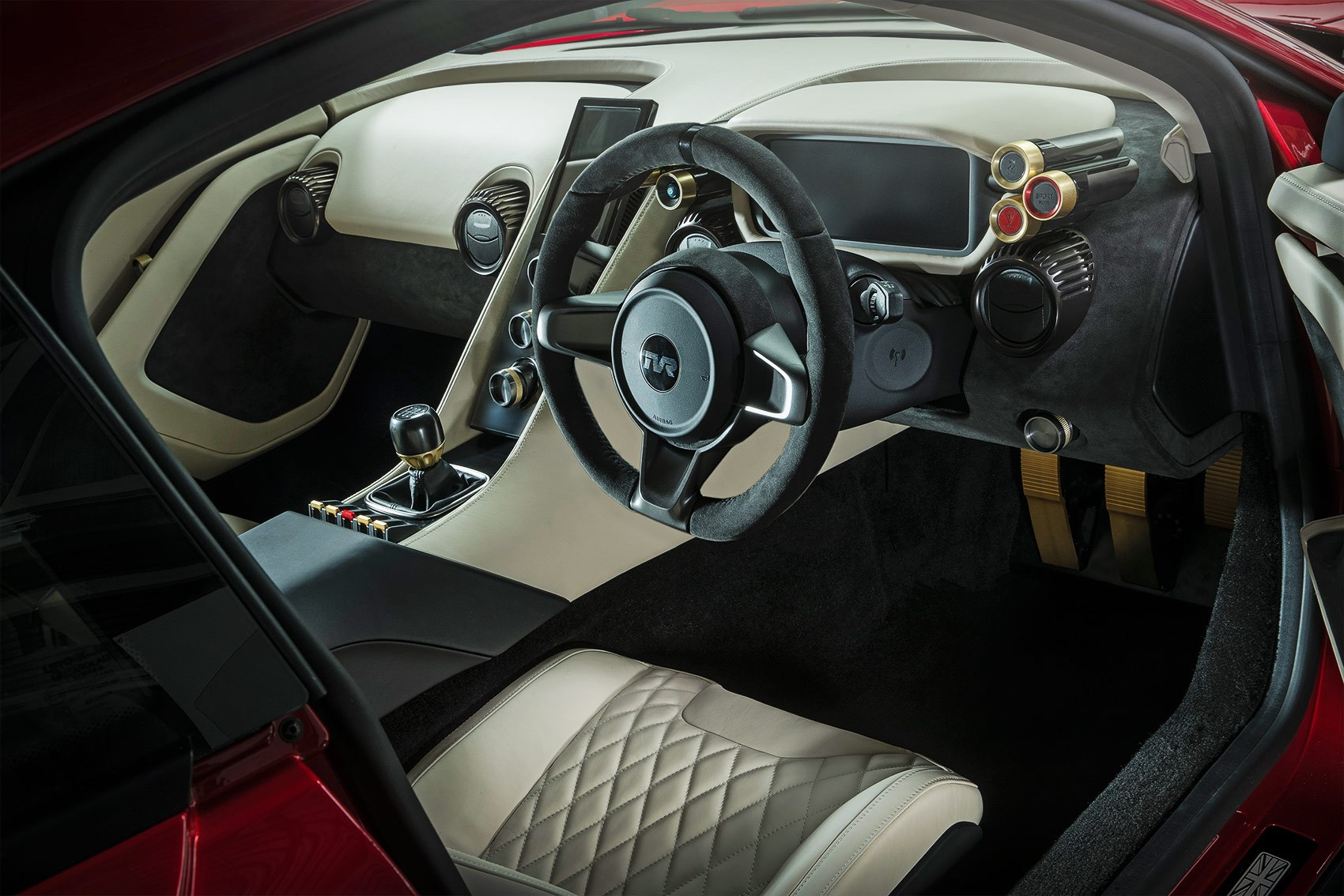 Inside The New Tvr Griffith Interior