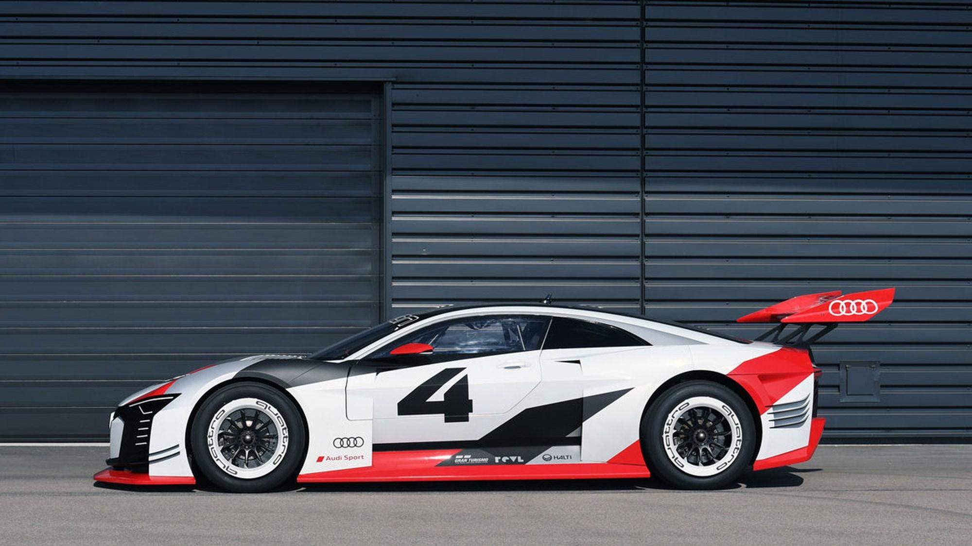 Audi e-tron Vision Gran Turismo: virtual concept to real-life racing ...