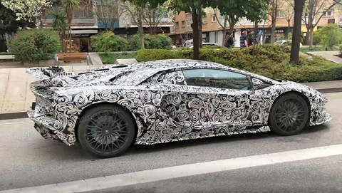 New 2019 Lambo Aventador SuperVeloce Jota spy photos