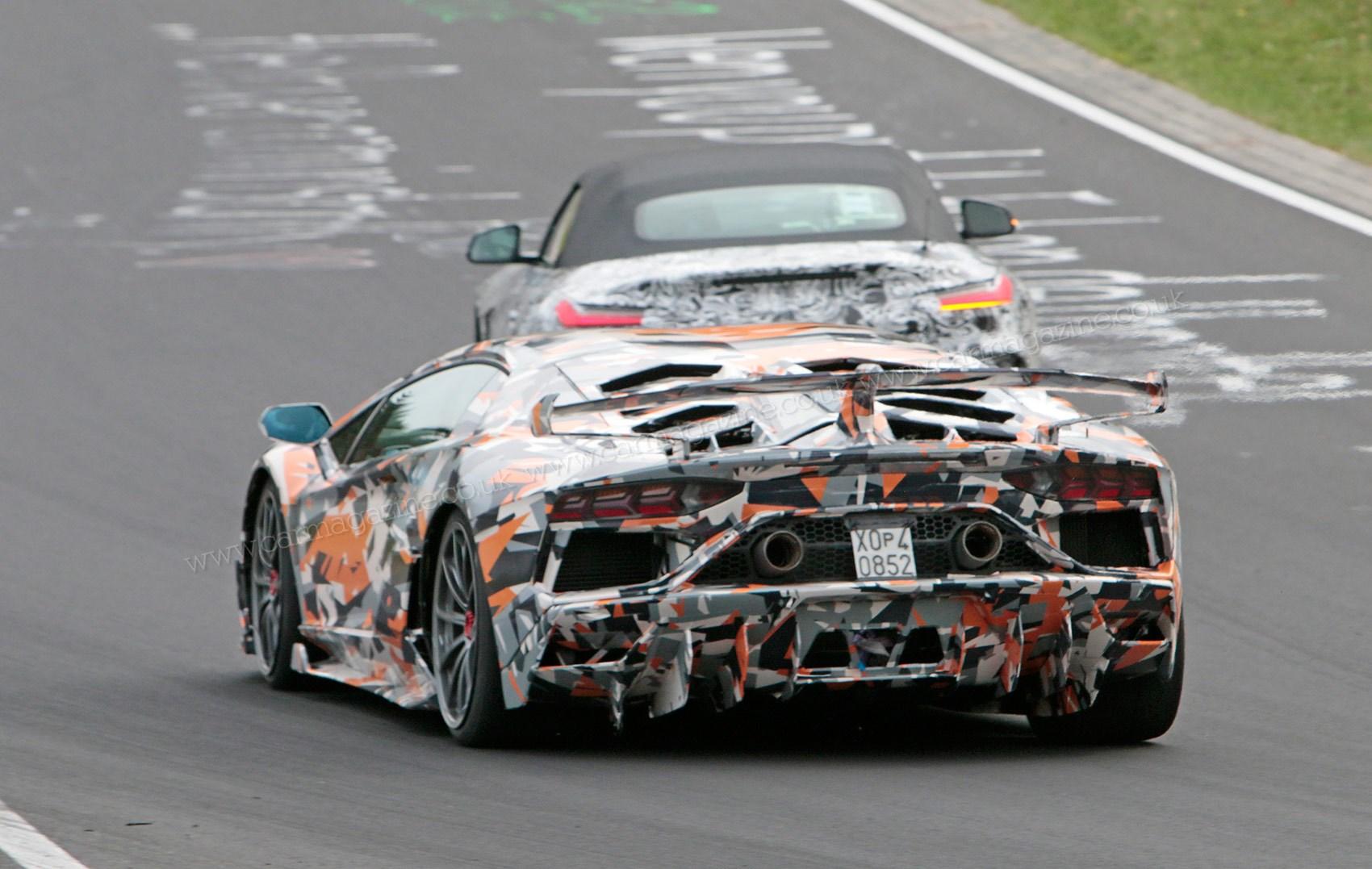Lamborghini Aventador Sv Jota 2019 Coupe And Roadster