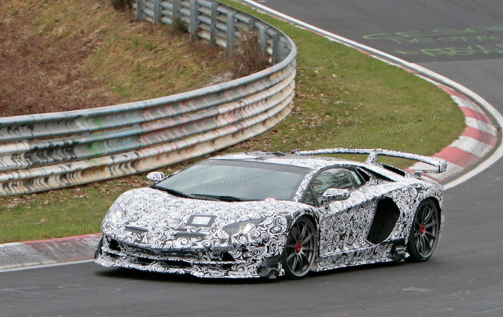 Lamborghini Aventador Sv Jota 2019 Coupe And Roadster Spy Photos Specs On Sale Date Car Magazine