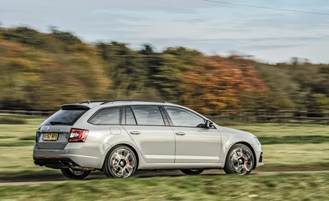 Skoda Octavia vRS 245 Estate: UK price is £29k
