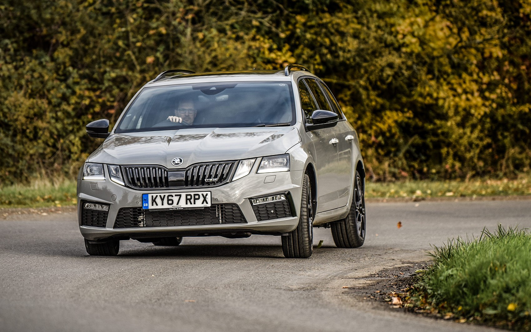 ... our turbocharged Skoda Octavia vRS 245 Estate ain't slow.