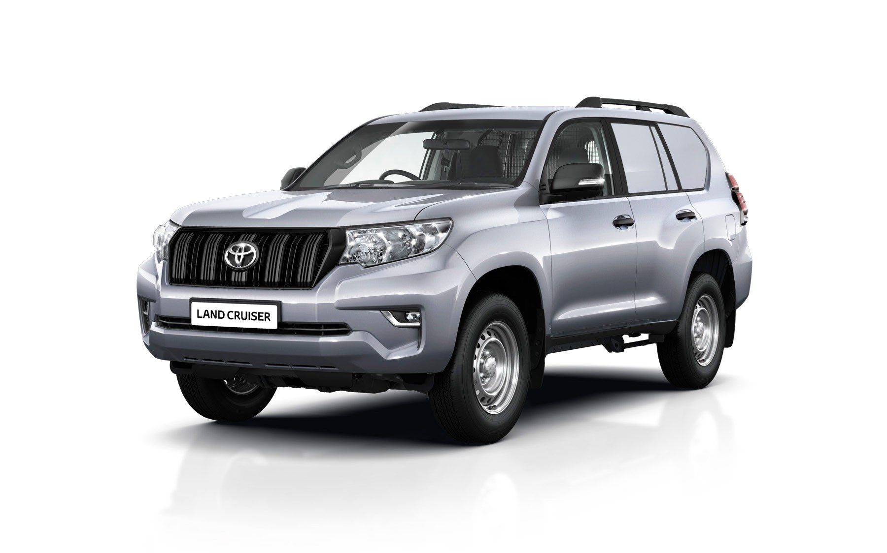 ... Or choose the five-door Toyota Land Cruiser Utility Commercial, from  £28,509 ...