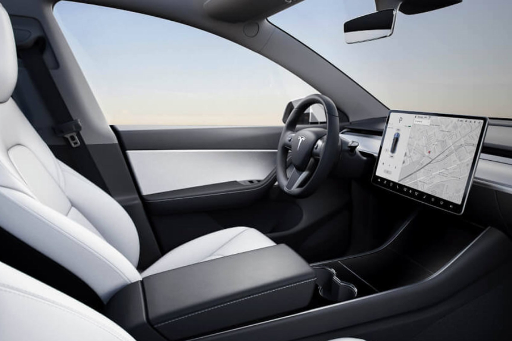 Tesla Model Y Pictures From Inside