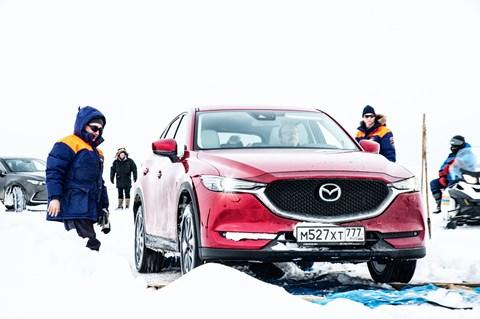 Mazda CX-5 versus Lake Baikal