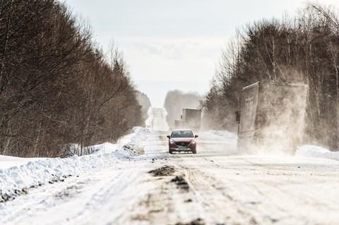 Mazda CX-5 vs Lake Baikal