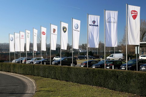 The VW Group brands