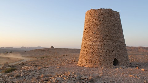 One of Oman's ancient beehive tombs