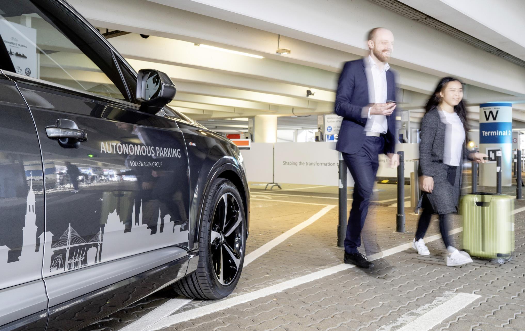 Charging robots and AI valets: VW Group reveals its autonomous parking plans