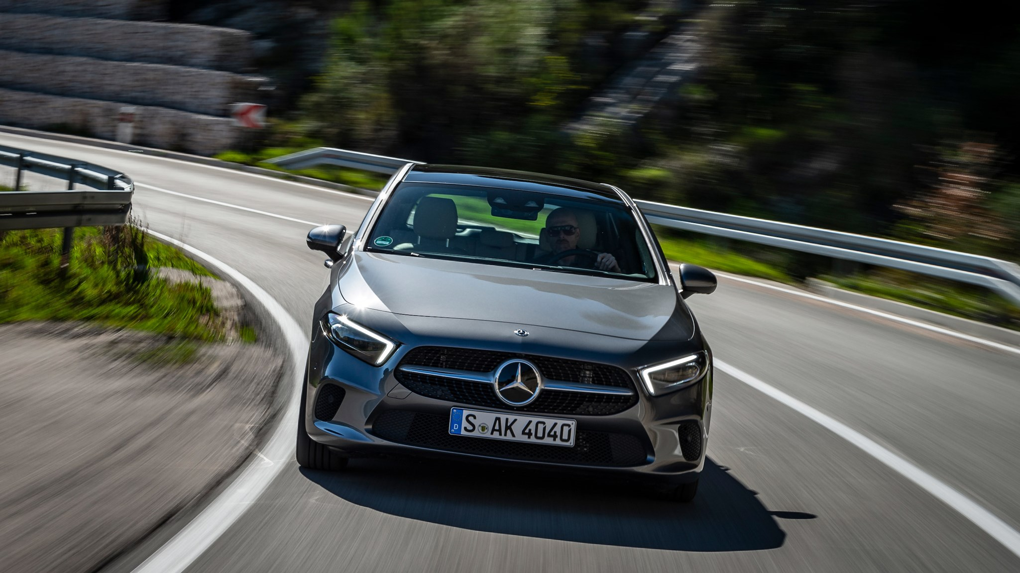 mercedes a class 2018 review is the hatch finally a worthy merc by car magazine. Black Bedroom Furniture Sets. Home Design Ideas