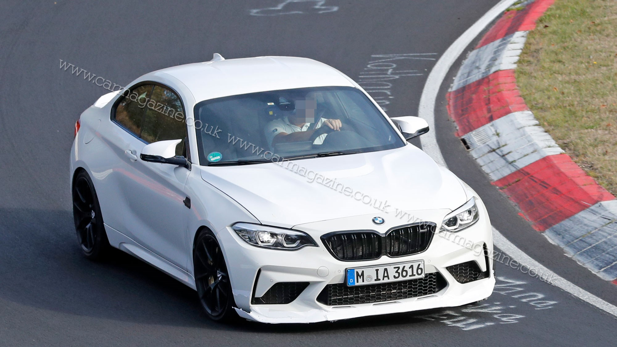 BMW M2 goes up to 11: CS or CSL prototype spotted testing