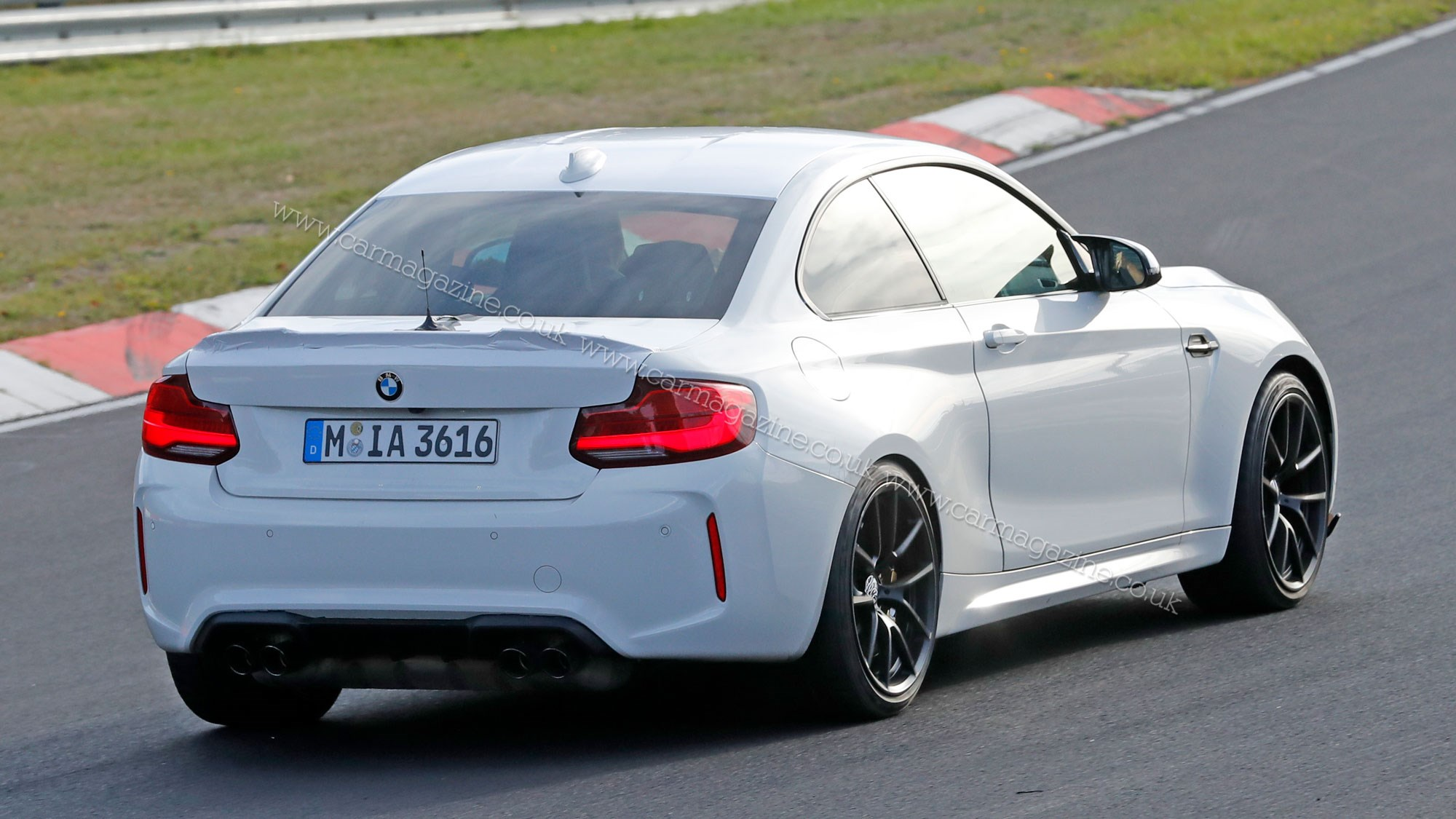 bmw m2 goes up to 11 cs or csl prototype spotted testing. Black Bedroom Furniture Sets. Home Design Ideas