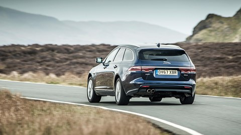 Jaguar XF Sportbrake: this is where the estate wins over an SUV, even a good one like Jag's own F-Pace